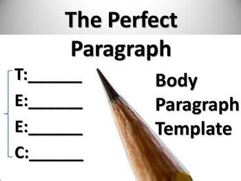 Anatomy of the Perfect Essay Paragraph Structure - Kibin